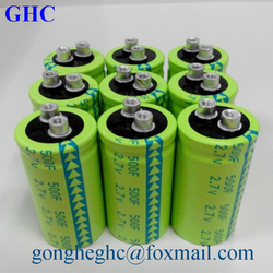 long life high power ultracapacitor 2.7v 500f super capacitor