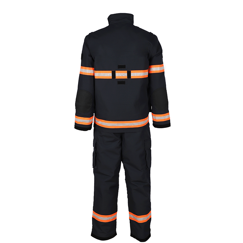 fireman uniforms used cotton flame retardant fabric