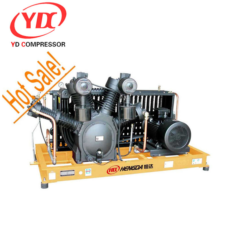 High Pressure booster air compressor 40bar pet blow moulding machine 40 bar pet blow moulding air compressor 210CFM 580PSI 90HP