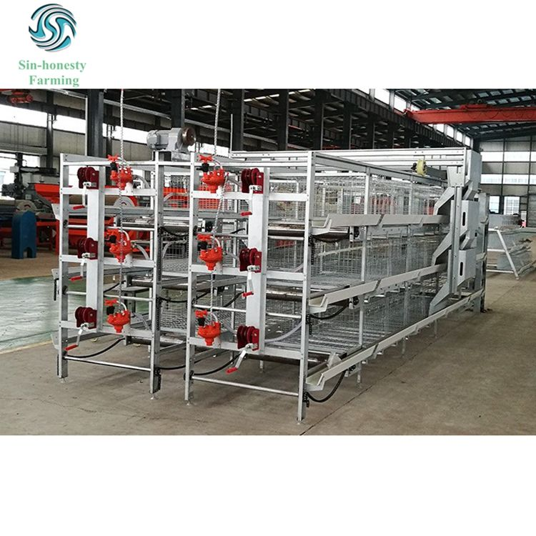 Poultry farming equipment poultry battery cages chicken cage for broiler