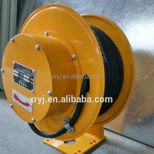High quality compact structure spring cable reel for crane