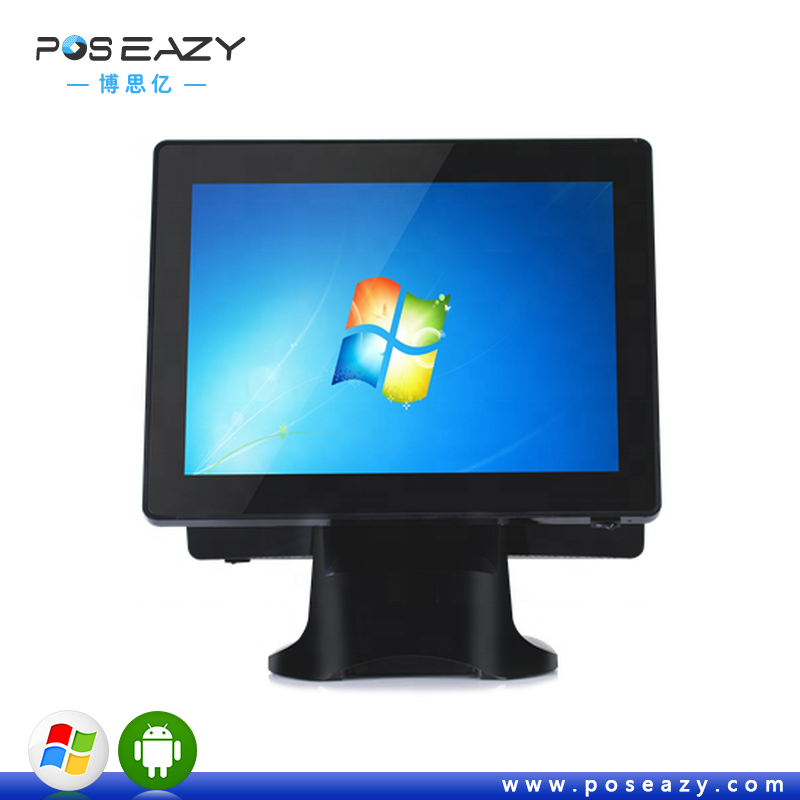 15 inch windows POS payment terminal pos all in one pos machine for bank dual screen touch terminal