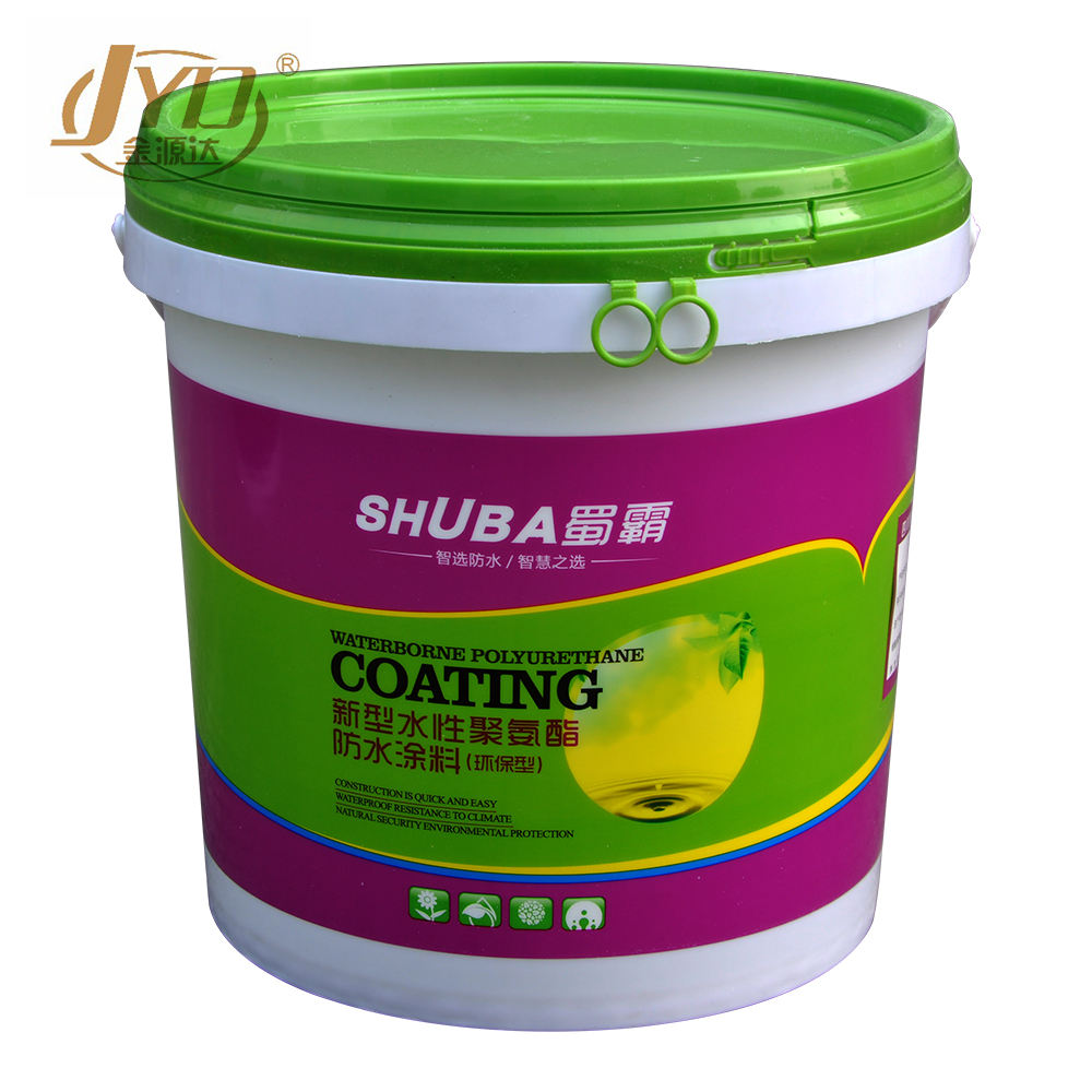 Single component water based waterproof acrylic emulsion