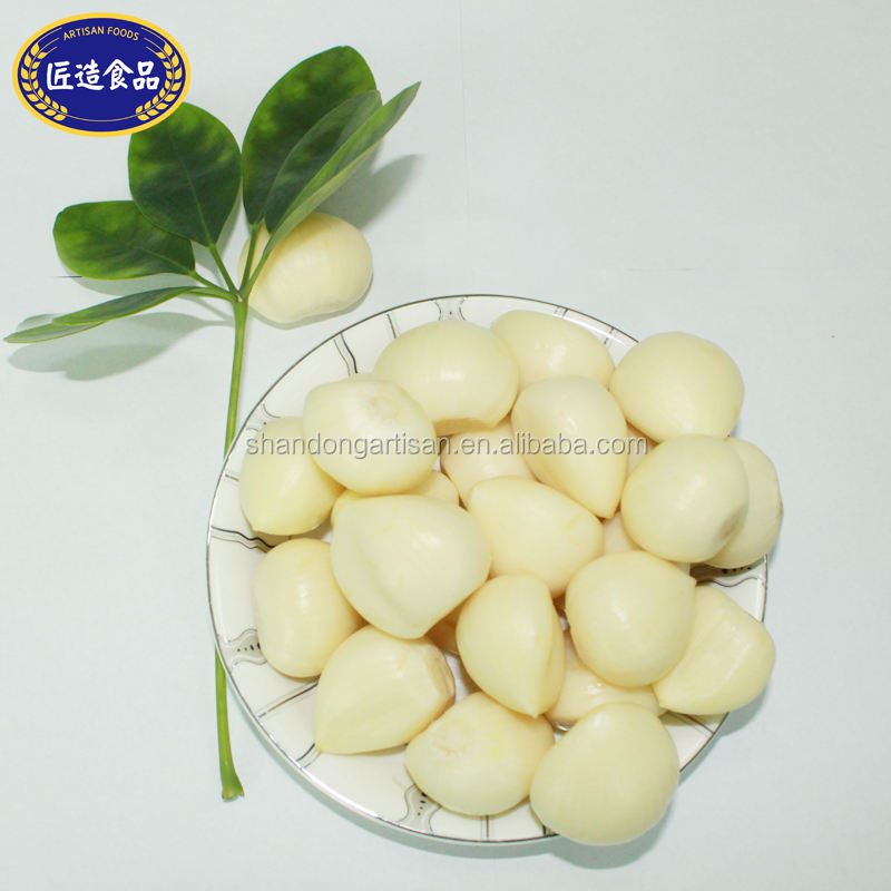 High quality China Factory fresh peeled garlic and new crop garlic cloves