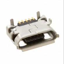 Amphenol connector Micro USB, Input Output Connectors, B TYPE RECEPTACLE with flange 10118194-0001LF
