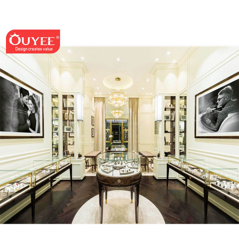 Jewellery Shops Interior Design Images Jewelry Counter Showcase LED Light Jewelry Display Case