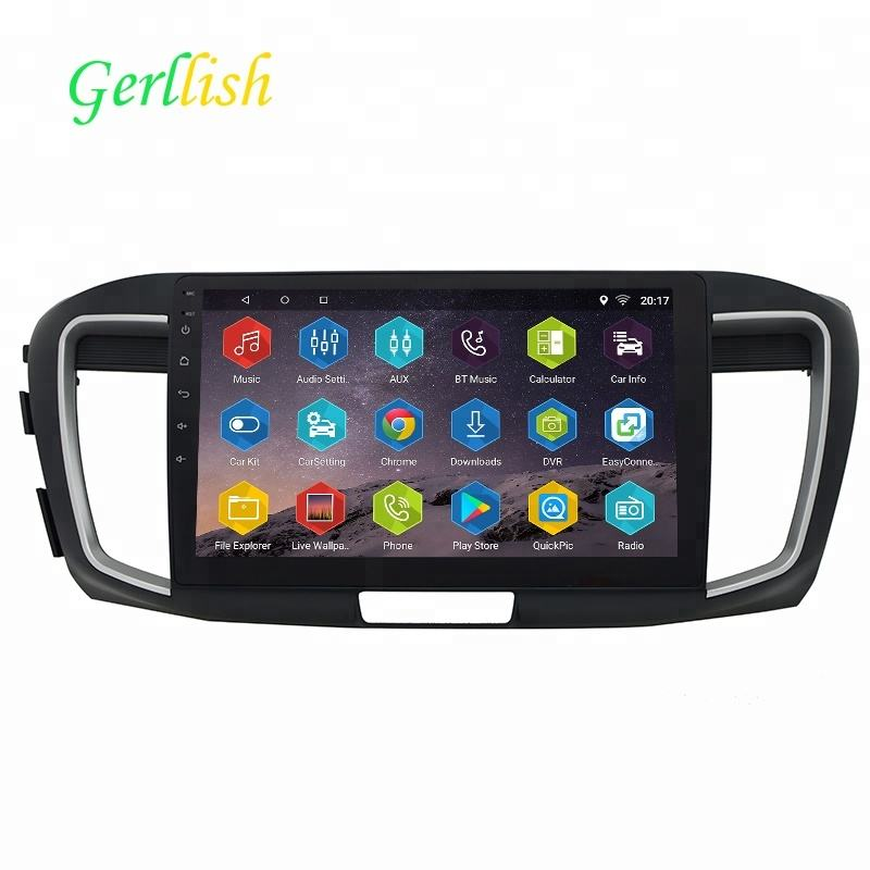 10.1 inch touch screen car gps multimedia touch screen car dvd player car radio android for Honda Accord 2014/2015/2016/2017