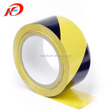 Yellow Black PVC Floor Marking Tape