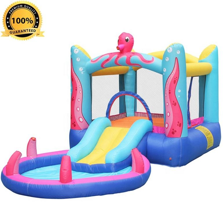 S408A Hot Sale Oxford Fabric 100%FullTest CustomDesign Inflatable Bounce Water Supplier in China