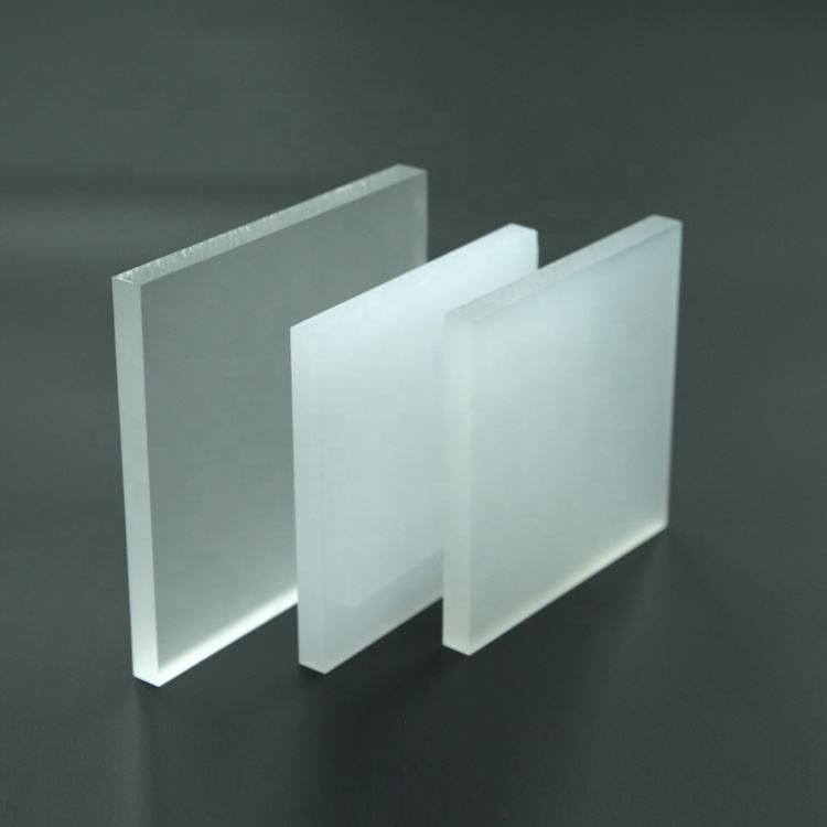 100% Lucite grondstof frosted pmma matte wit 18mm acryl dakplaat