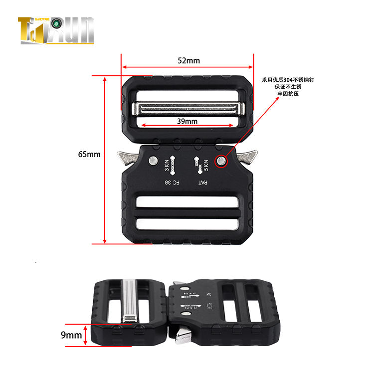 custom alloy metal castings buckle heavy duty buckles for belt
