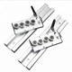 Dual-axis roller linear guide slider SGR15N-4UU with locking positioning function
