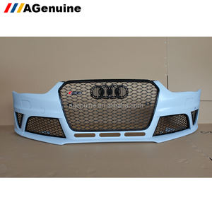 Wholeselling RS4 facelift front bumper with grills front conversion body kit for audi a4 s4 B8.5