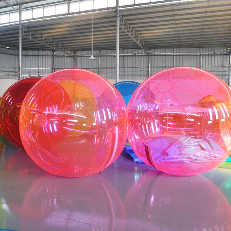 Transparent inflatable water running ball walking water ball pool for sale