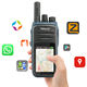 Mobile phone with walkie talkie Wifi two way radio Android SIM GSM N58 bluetooth headset two way radio