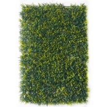 Garden decoration artificial green wall/ 40cm*60cm Cypress leaves plant wall indoor use