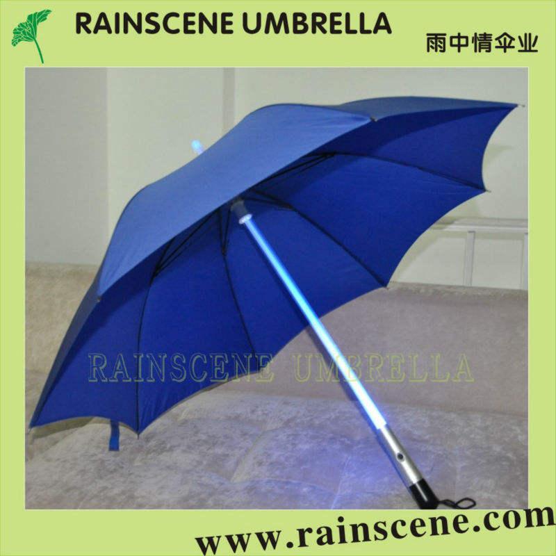 новый дизайн прямой зонтик со светодиодной <span class=keywords><strong>лампы</strong></span>
