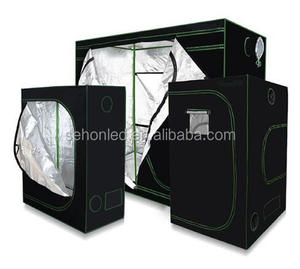growshop silver reflective thick mylar fabric complete grow tent kit indoor led grow tent