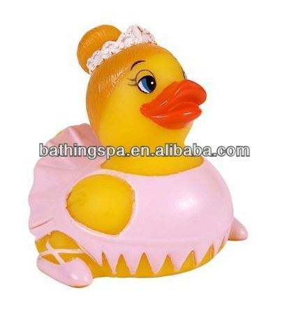 Hot selling princess aunty bath duck for babies