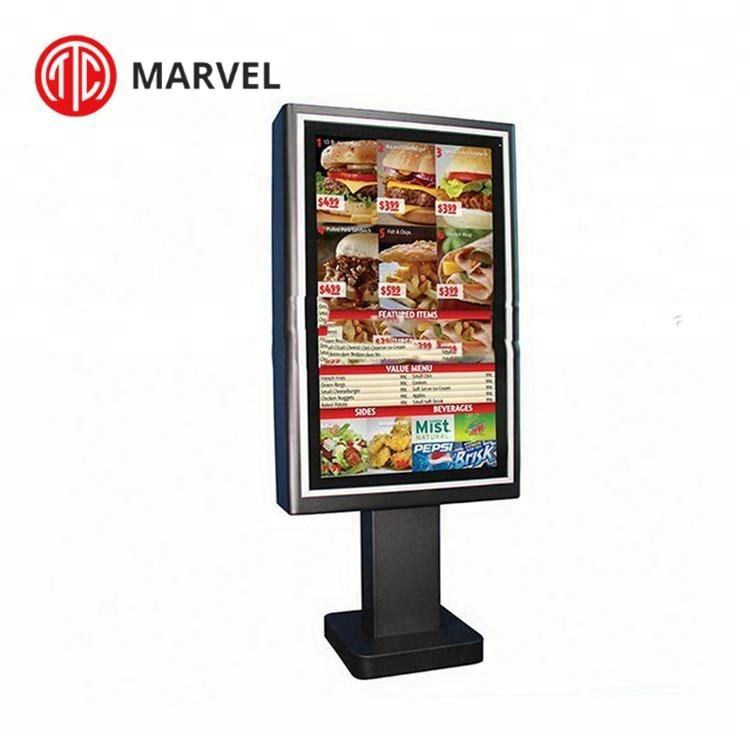 Weatherproof Interactive HD Stand Alone LED large size screen outdoor touchscreen kiosk