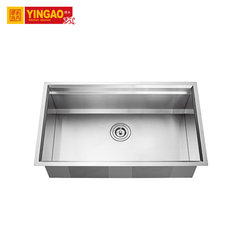 multi-function commercial ss farm undermount kitchen sink handmade farmhouse stainless steel kitchen sink