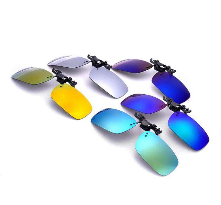 Colorful glasses lens Blue Polarized Replacement Sunglass Lenses