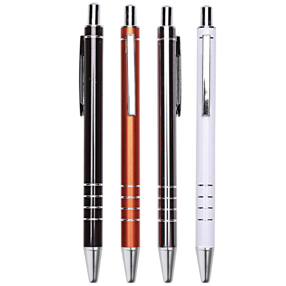 Reliabo China Bulk Products Blue Black Ink Personalised Metal Pens With Custom Logo