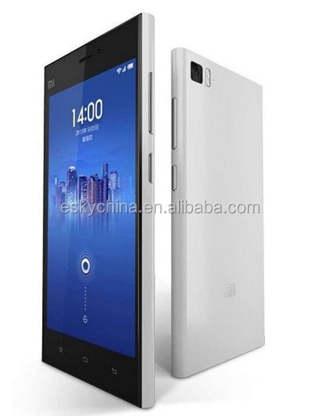 telefone celular mais barato xiaomi marca original xiaomi mi3 64gb branco telefone móvel wcdma loja de decoração