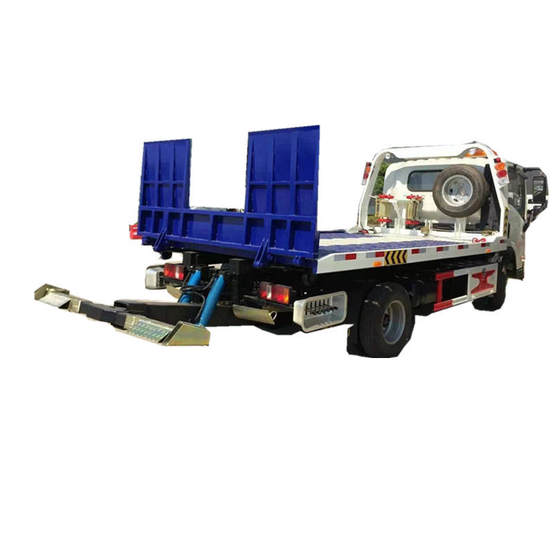 3tons to 5tons 4x2 3300mm wheelbase Rear recovery wrecker under wheel lift wrecked tow truck for sale
