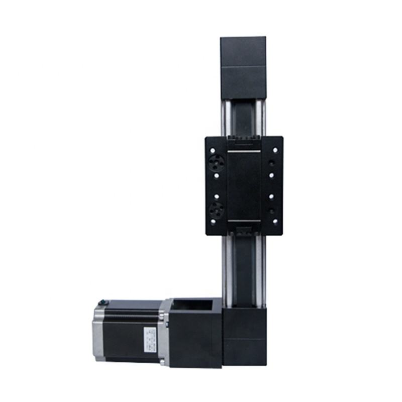 High speed ATBD40 belt drive linear guide 400mm stroke rail motion slide actuator module for CNC medical equipment