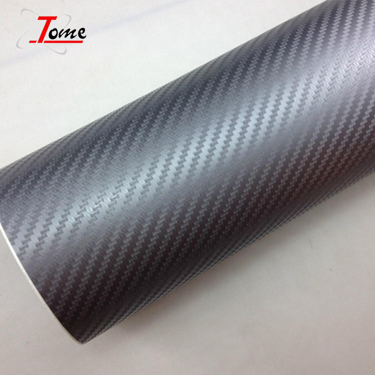 Guangzhou Self Adhesive Heat Resistant 3D Carbon Fiber Vinyl Sticker For Car Wrap