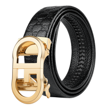 2019 Custom High Quality Texture Wholesale Men Automatic Genuine Leather Embossed Belt