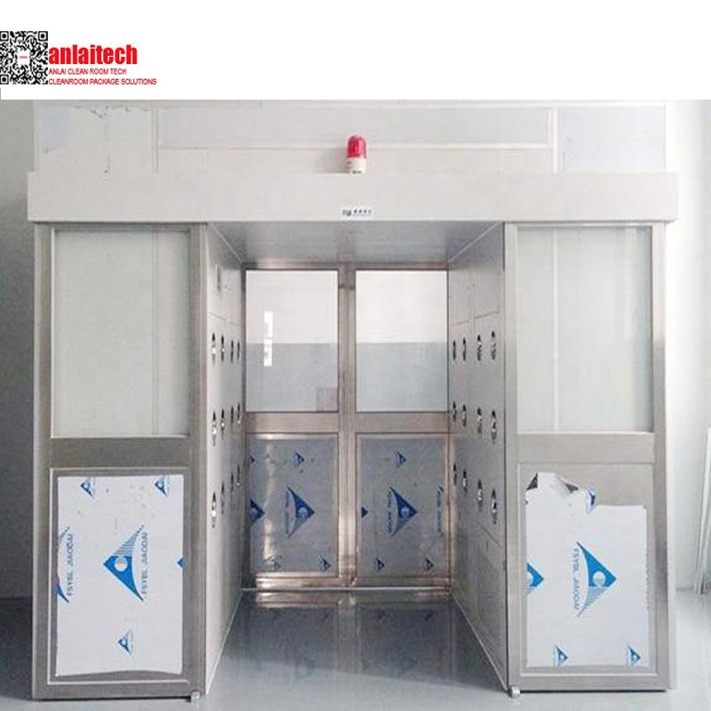 Auto sliding door air shower for clean room workshop