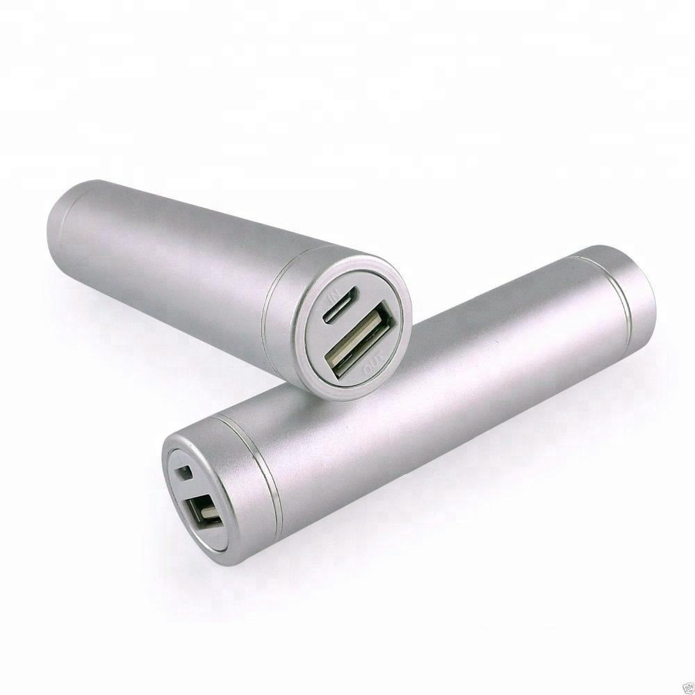 DC 5 V 1A Tragbare Aluminium Mini Power 2600 mah