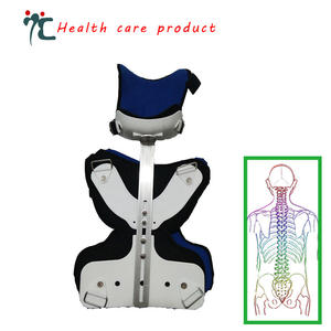 ZHIZIN Head and neck support fixo coluna torácica cervical órtese cinta