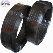 black paint  steel strapping strip 16 by 0.60 shandong steel strapping