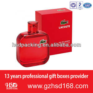 simple red box perfume