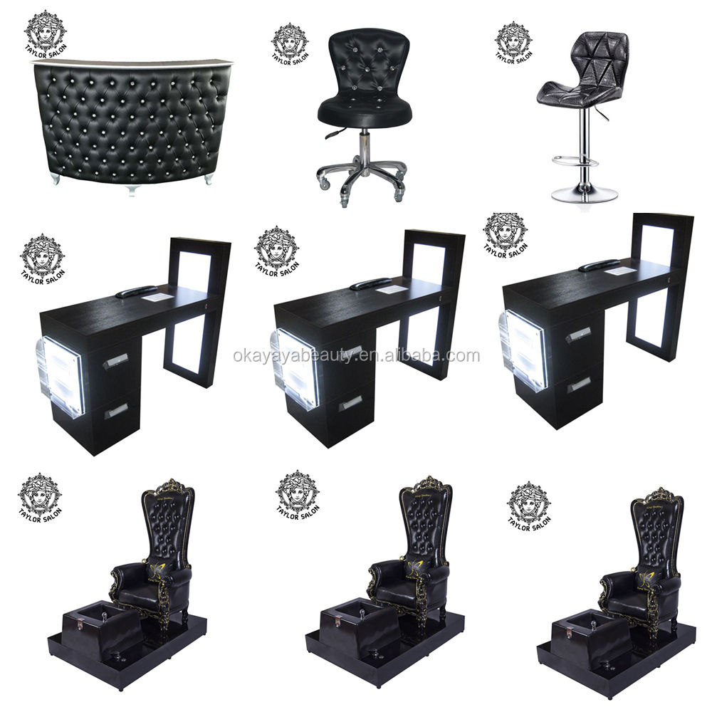 design manicure table and chair set nail desk manicure pedicure table