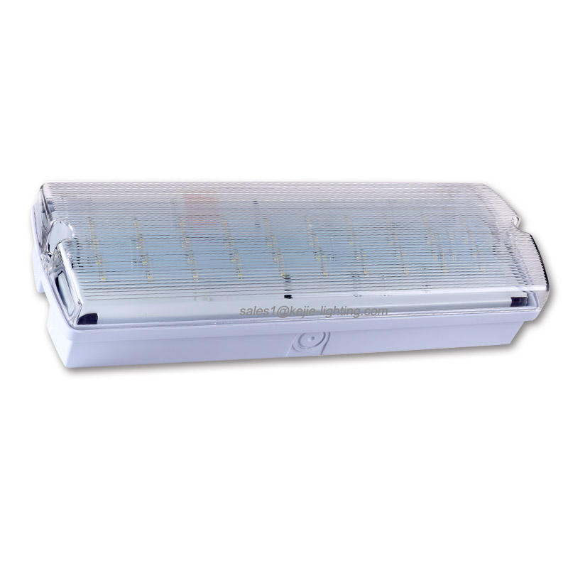 The most popular IP65 rechargeable led bulkhead 3h battery backup led emergency lights