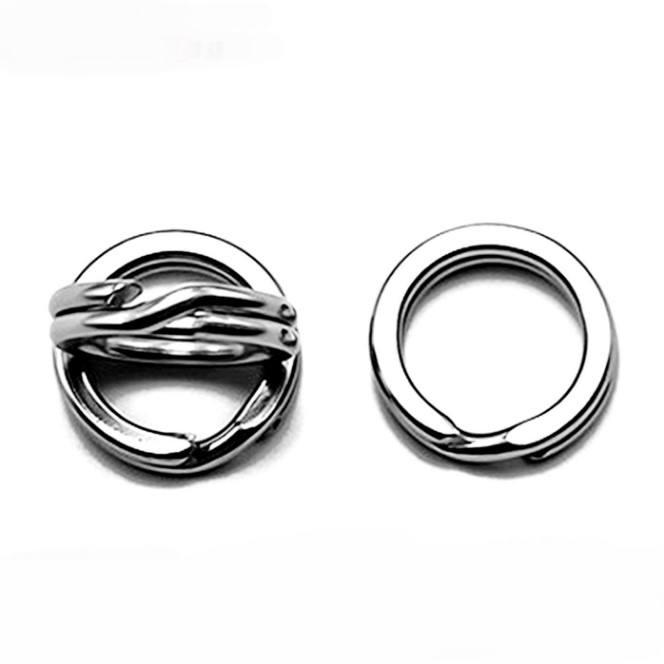 500 Stück Gummi Angelruten Ringe Terminal-Tackle Rund Boilie Köder Ring