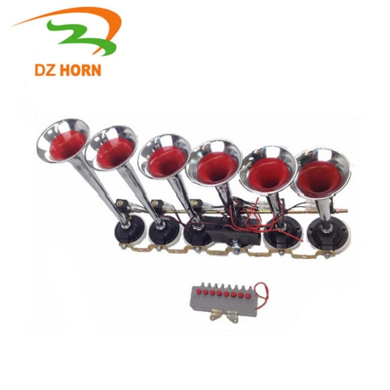 Good selling factory supply musical car truck horn With 8 sounds