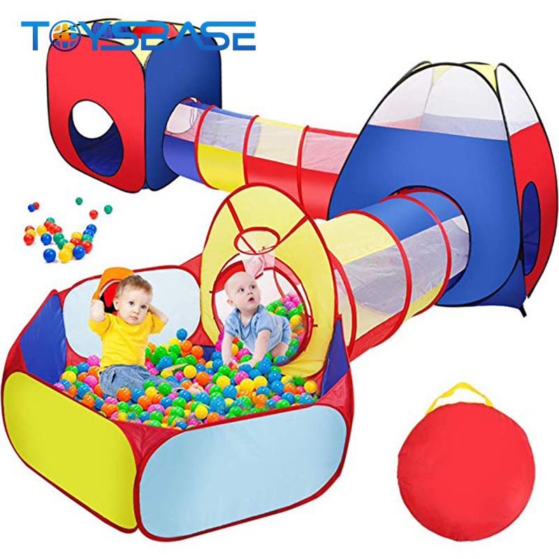 2019 Toys New Product Five Piece Suit Marine Fold Kid Play Tent Tunnel