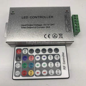 24key RF RGB LED controlador manual