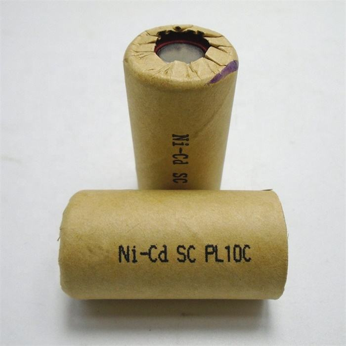 Rechargeable 1300mah nicd kr sc 1.2v battery for power tools