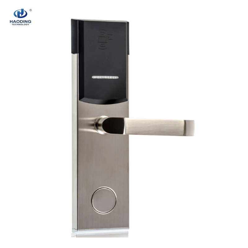 Best Security Popular Electronic Key Card RFID Hotel Door Lock with Management Software