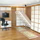 Japanese style Murphy Bed System Invisible Twin Folding Wall Bed