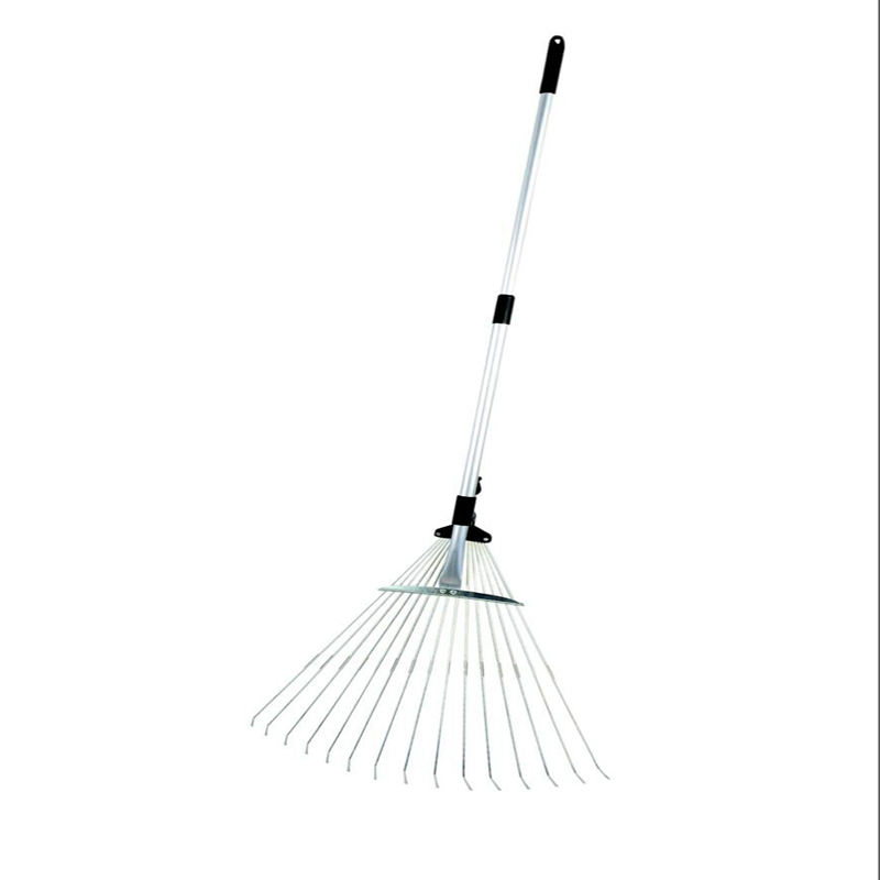 Adjustable folding rake head from 7