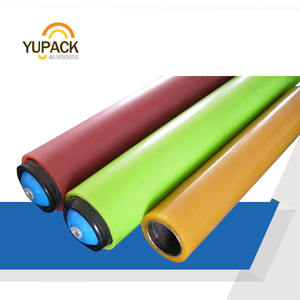 Nylon and PVC plastic gravity conveyor roller