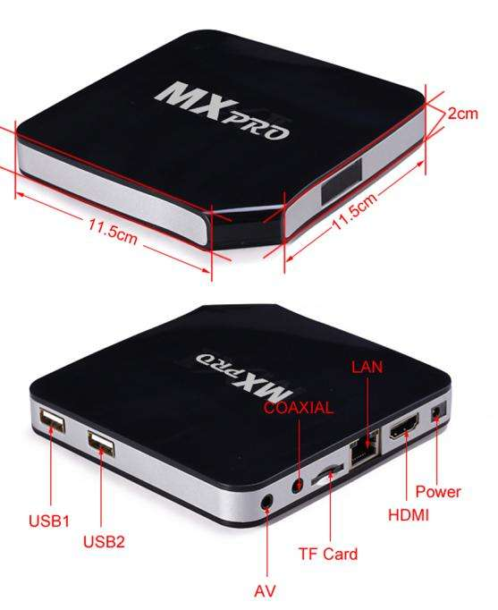 H.264 hd Android IPTV Box