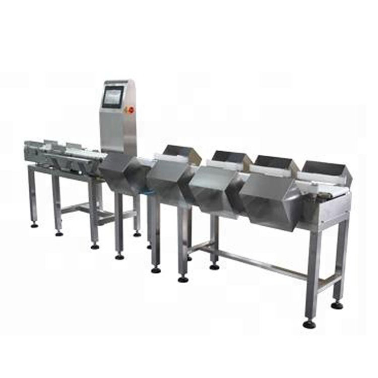 Weight Sorting Machine for Fish, Poultry Meat, etc